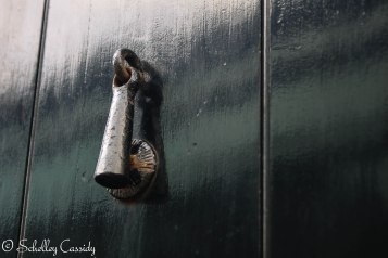 A door knob/knocker in Ireland.
