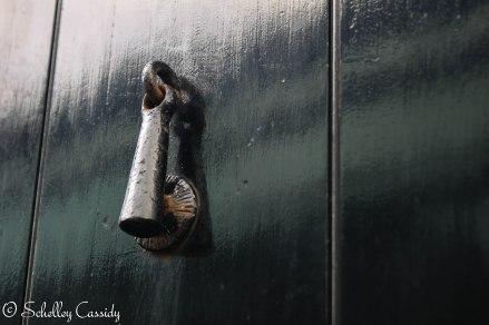 A door knob/knocker in Ireland.