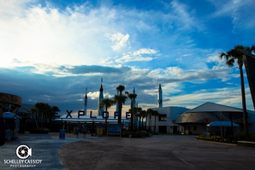 A view of the KSC entrance.