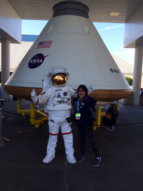 Me with an astronaut!